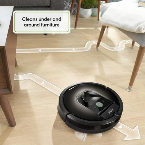 iRobot Roomba 980 pulizia